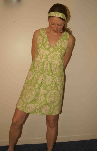 the pretty picnic dress: intermediate sewing!