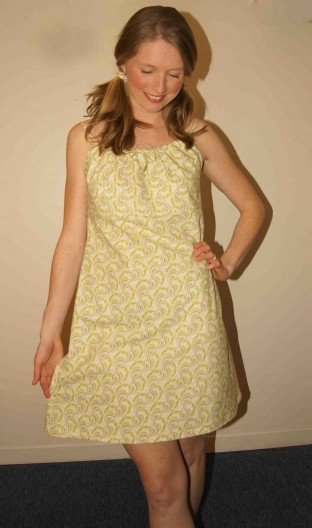 the summer fling dress: beginner sewing class!